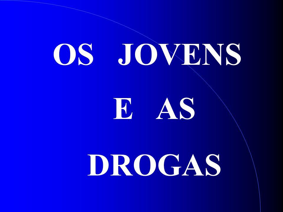 OS JOVENS E AS DROGAS