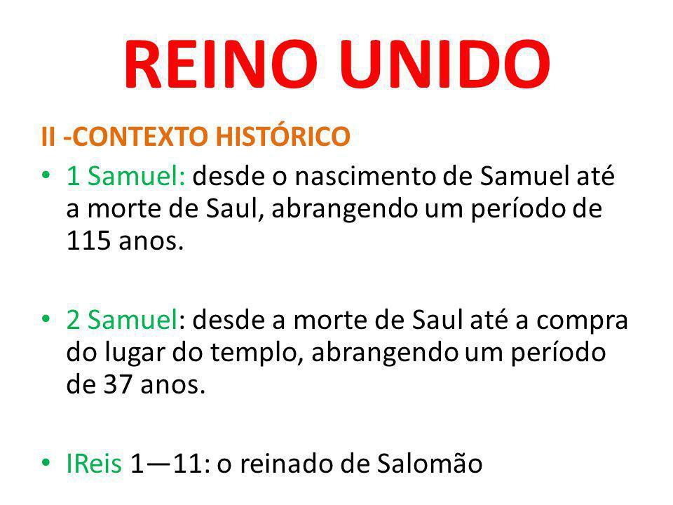 REINO UNIDO II -CONTEXTO HISTÓRICO