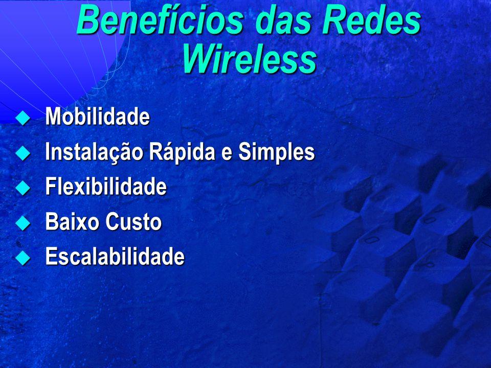 Benefícios das Redes Wireless
