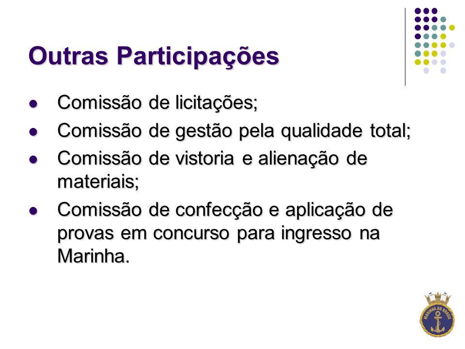 Outras Participações Comissão de licitações;