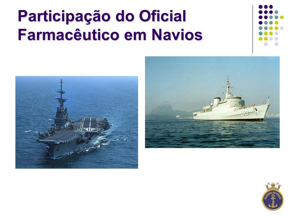 Participação do Oficial Farmacêutico em Navios