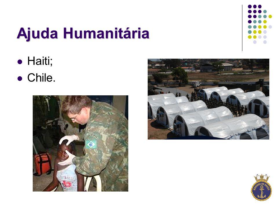 Ajuda Humanitária Haiti; Chile.