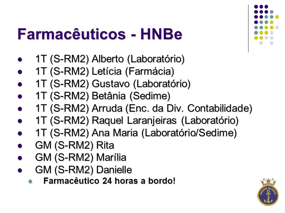 Farmacêuticos - HNBe 1T (S-RM2) Alberto (Laboratório)
