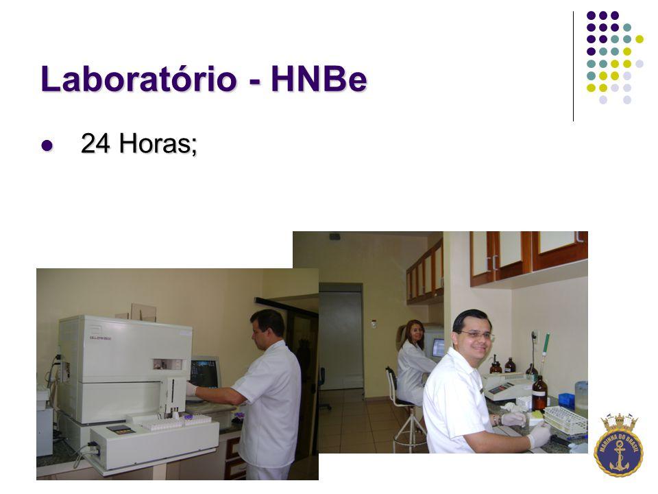 Laboratório - HNBe 24 Horas;