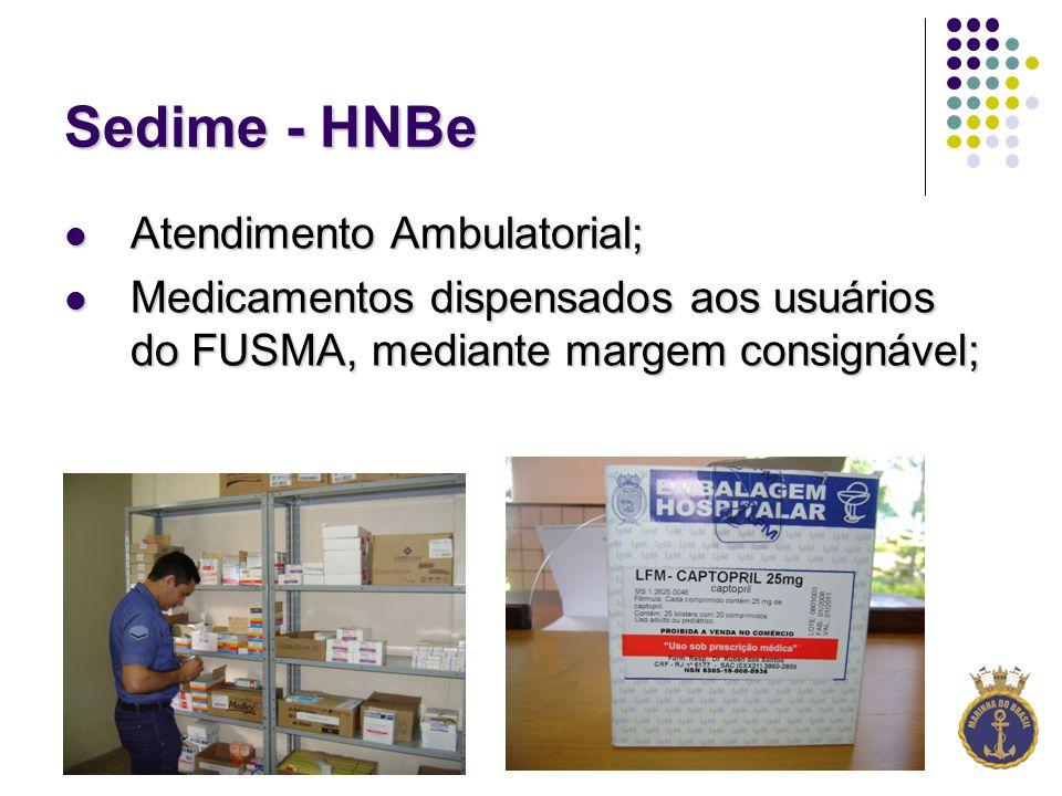 Sedime - HNBe Atendimento Ambulatorial;