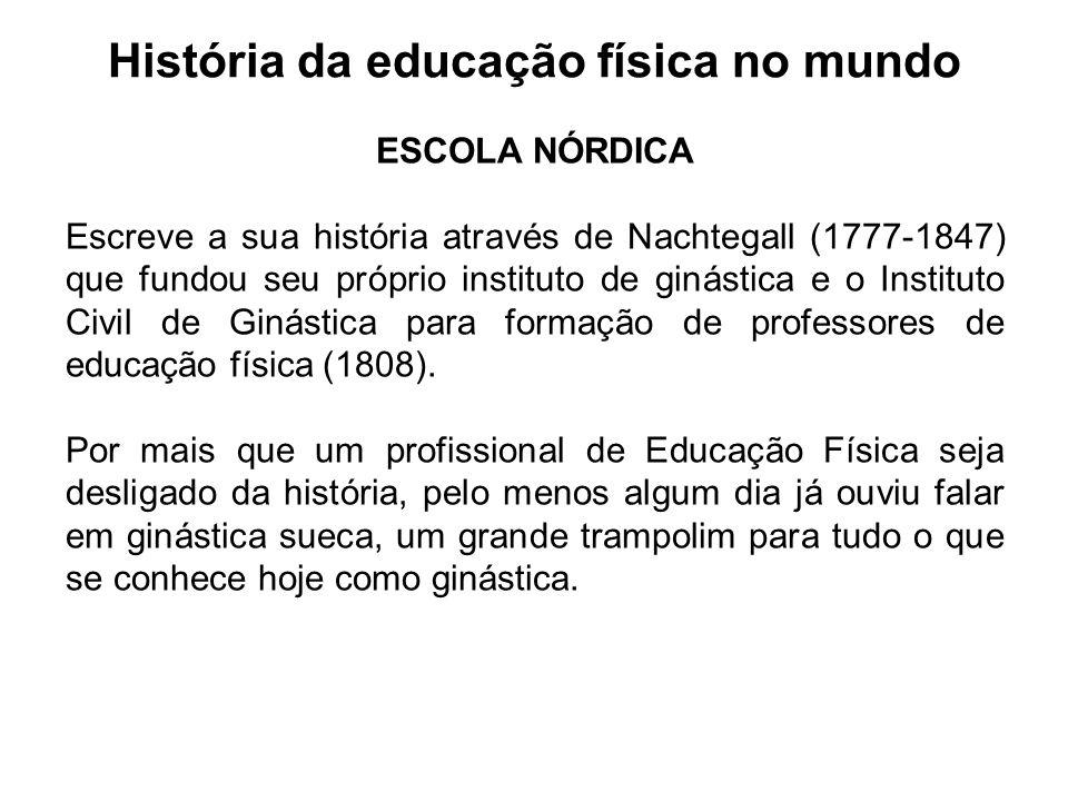 História da educação física no mundo
