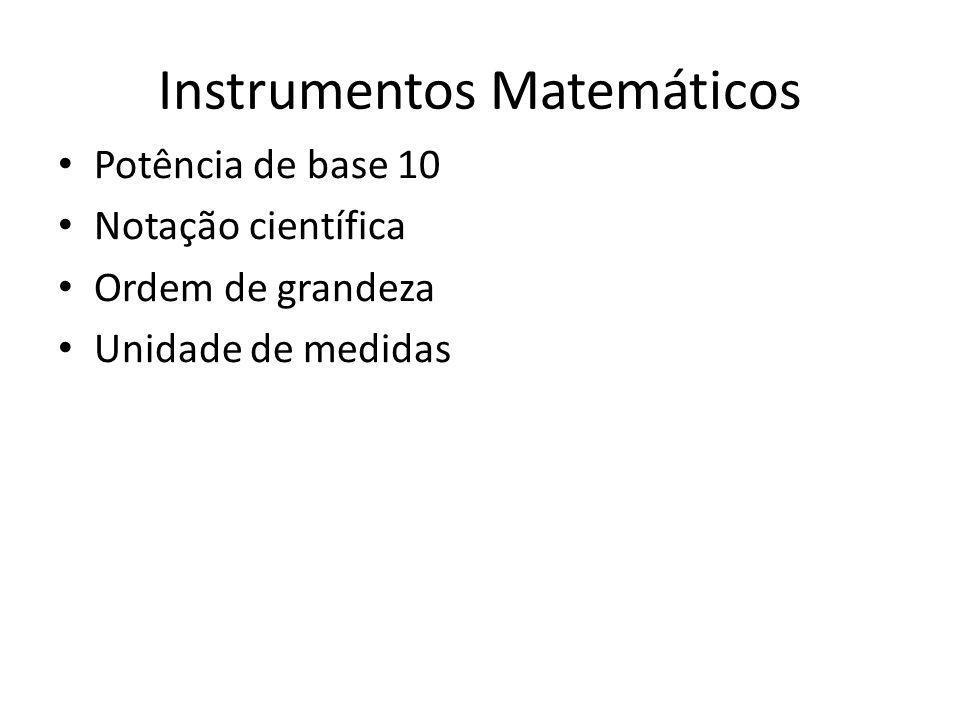 Instrumentos Matemáticos