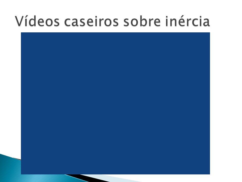 Vídeos caseiros sobre inércia