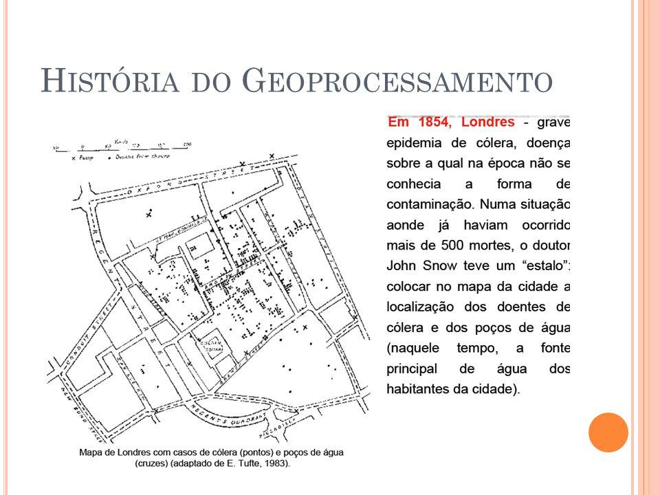 História do Geoprocessamento