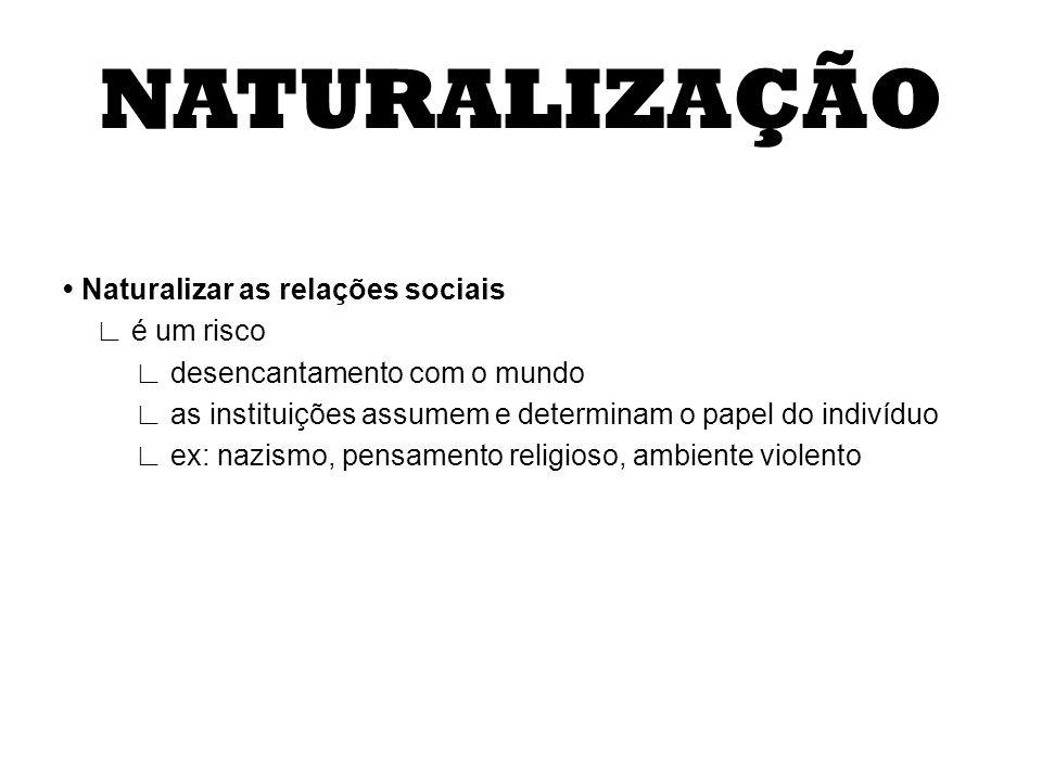 NATURALIZAÇÃO