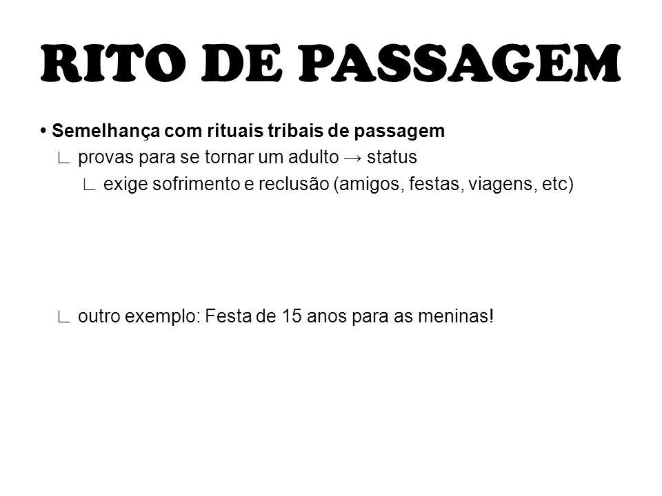 RITO DE PASSAGEM