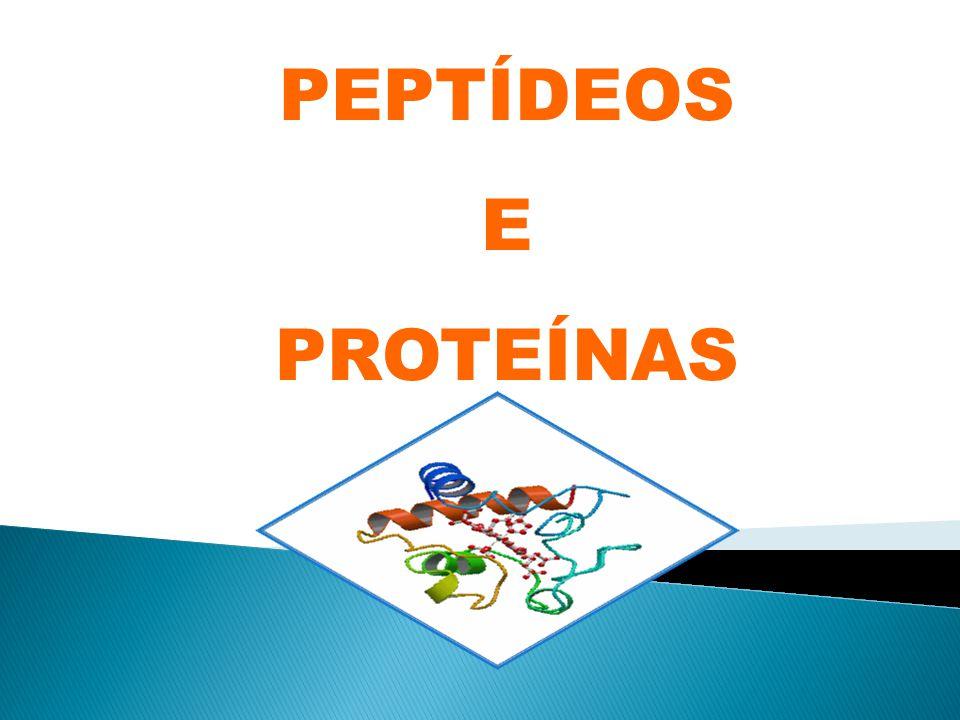 PEPTÍDEOS E PROTEÍNAS