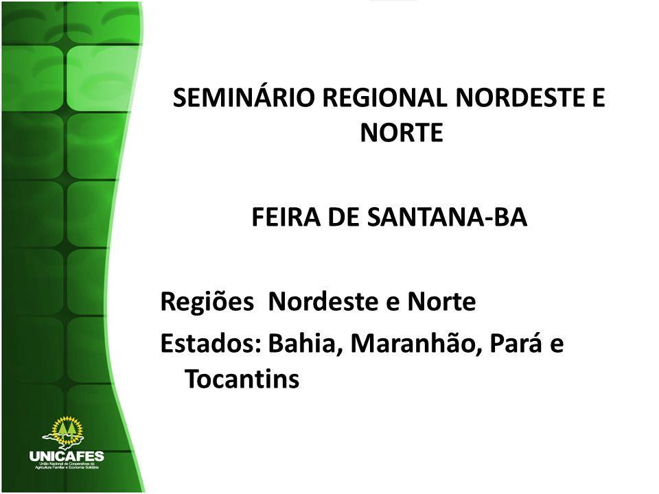 SEMINÁRIO REGIONAL NORDESTE E NORTE