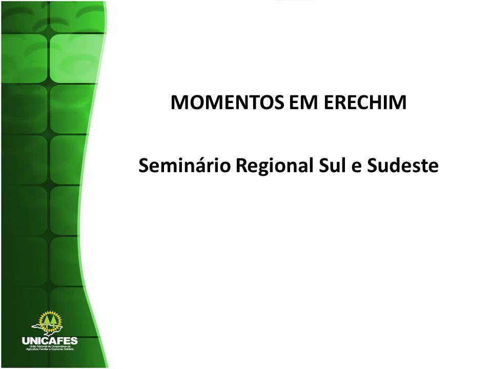 MOMENTOS EM ERECHIM Seminário Regional Sul e Sudeste