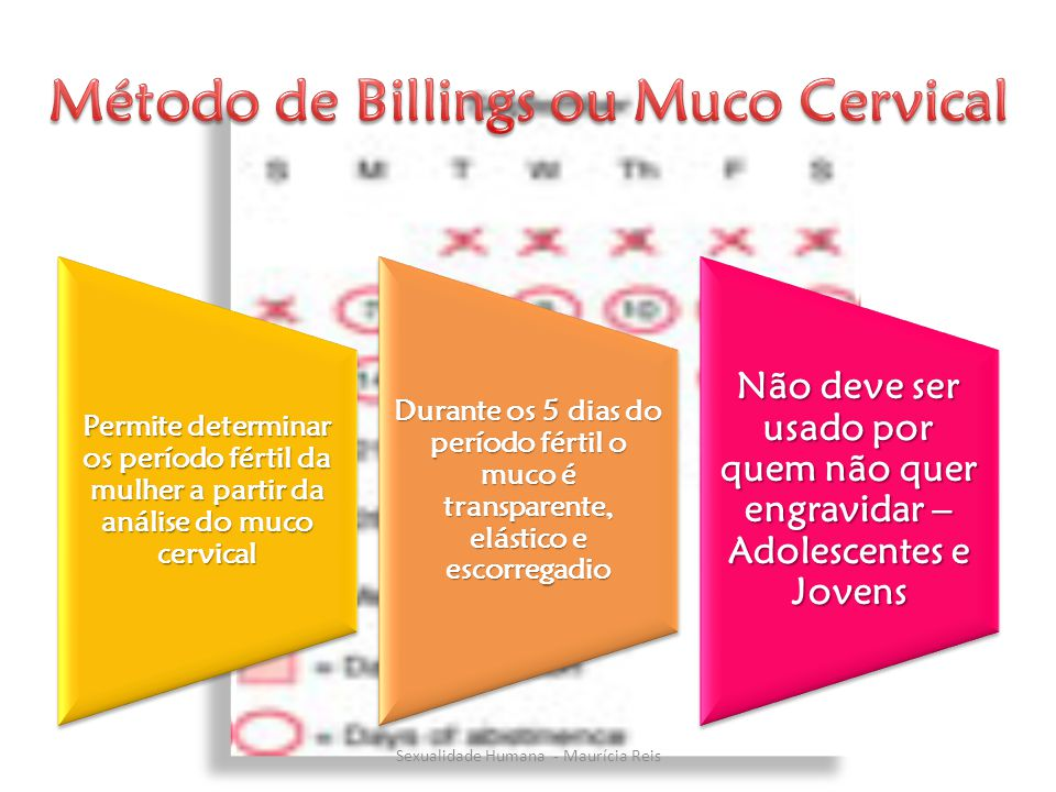 Método de Billings ou Muco Cervical
