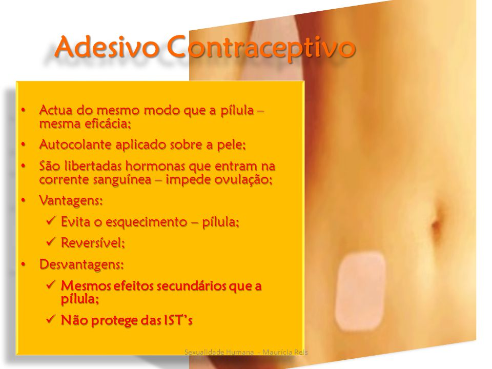 Adesivo Contraceptivo