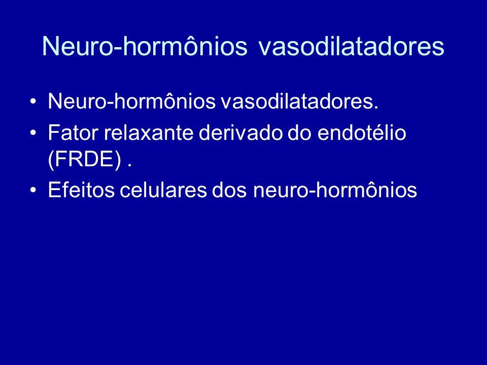 Neuro-hormônios vasodilatadores