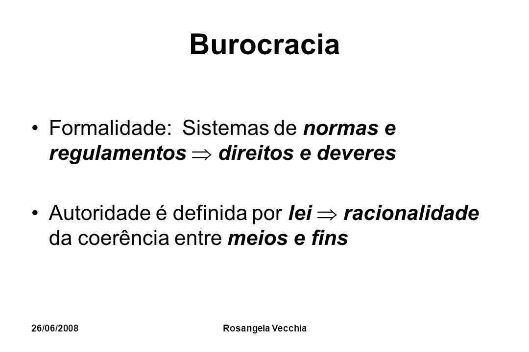 Burocracia Formalidade: Sistemas de normas e regulamentos  direitos e deveres.