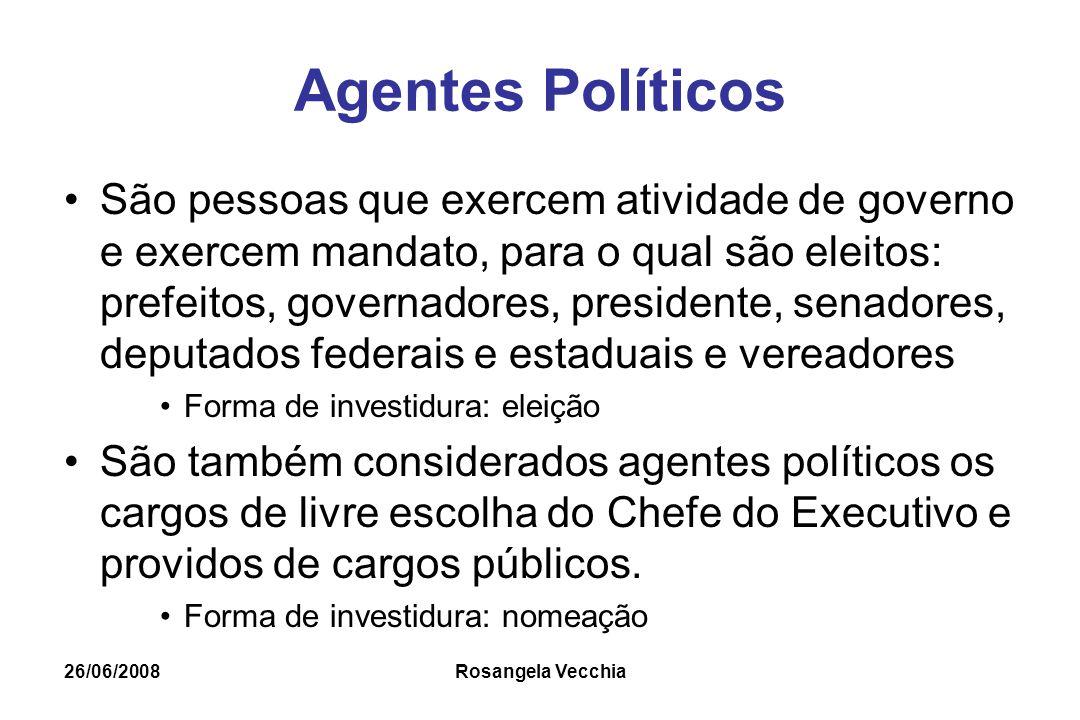 Agentes Políticos