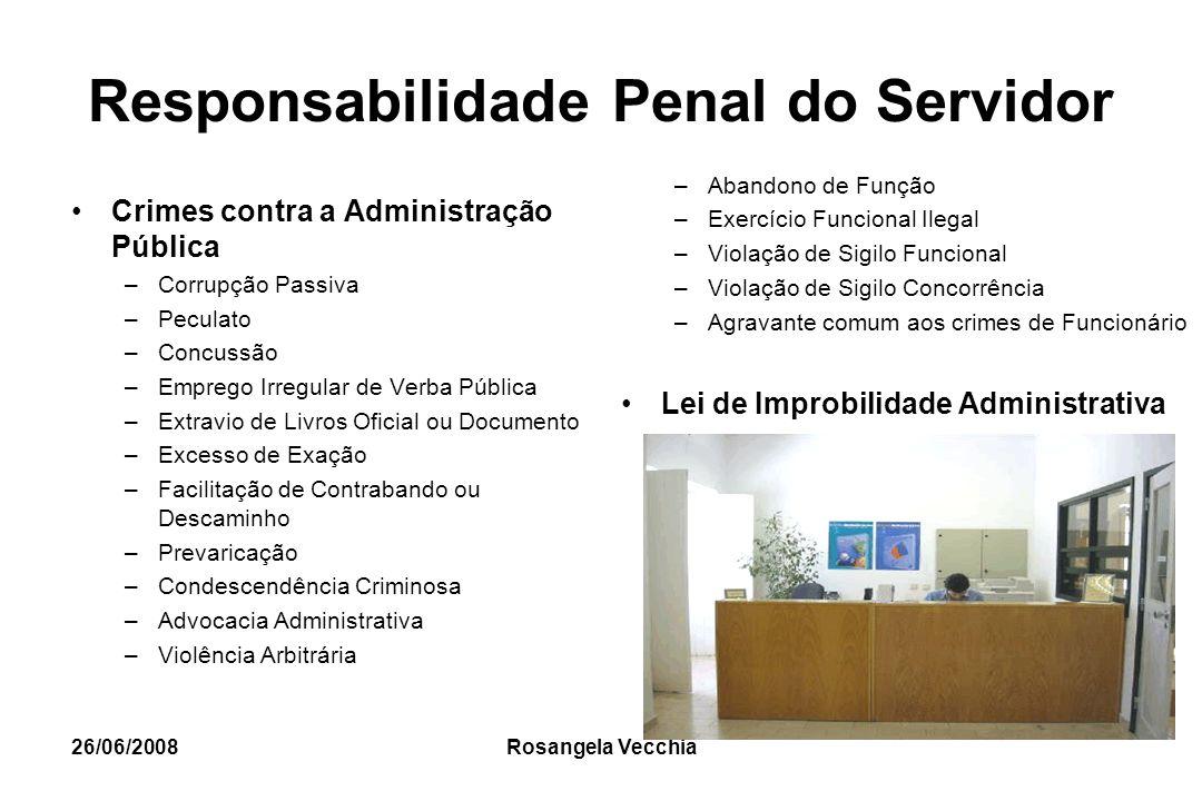 Responsabilidade Penal do Servidor