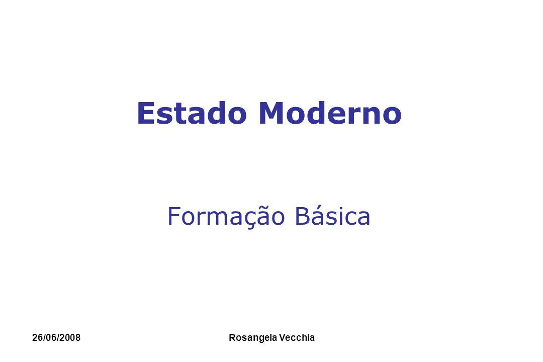 Estado Moderno Formação Básica