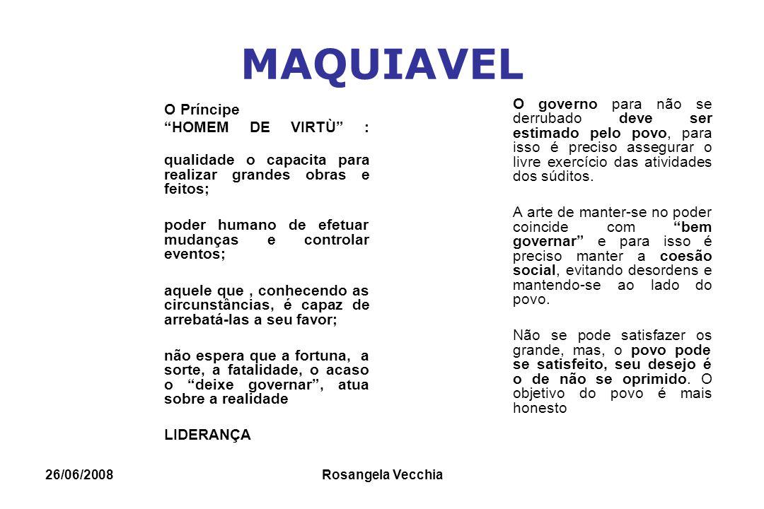MAQUIAVEL HOMEM DE VIRTÙ :