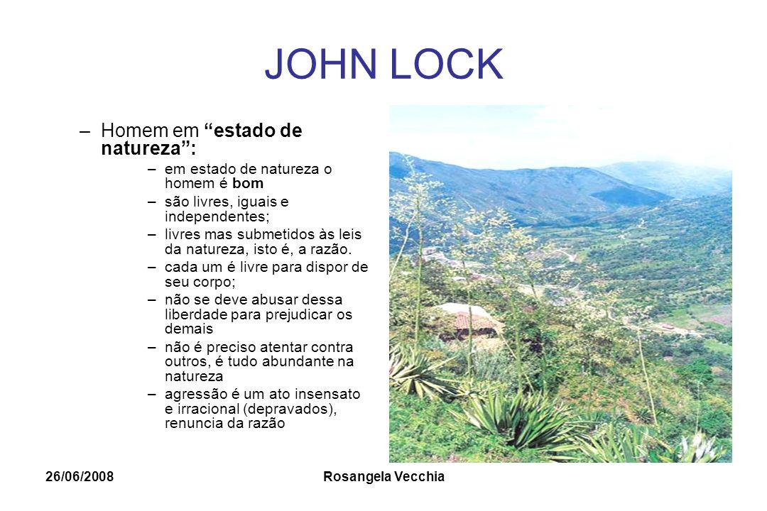 JOHN LOCK Homem em estado de natureza :