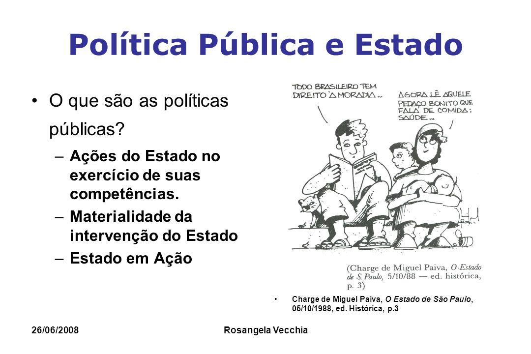 Política Pública e Estado