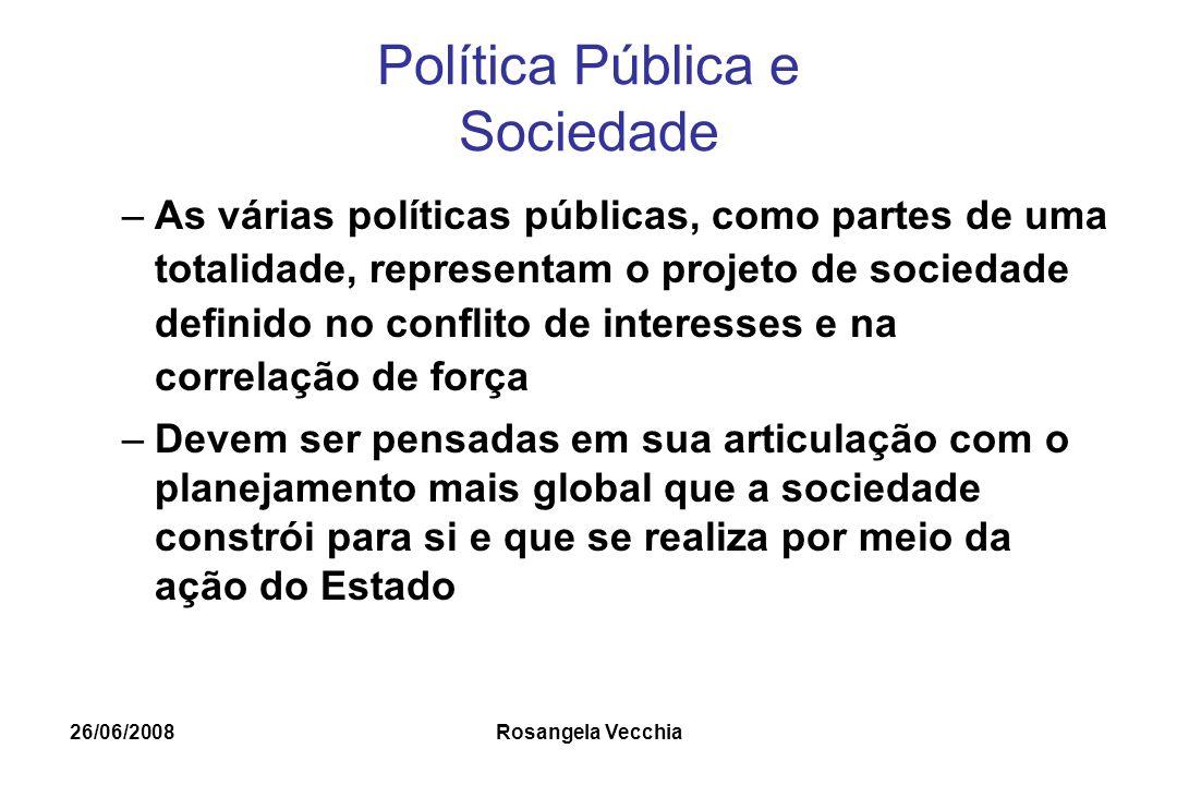 Política Pública e Sociedade