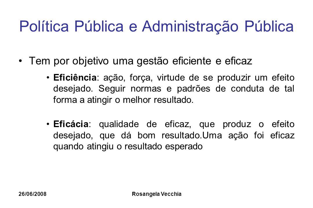 Política Pública e Administração Pública