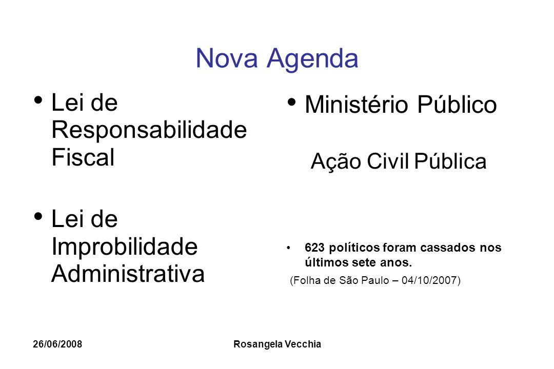 Nova Agenda Lei de Responsabilidade Fiscal Ministério Público