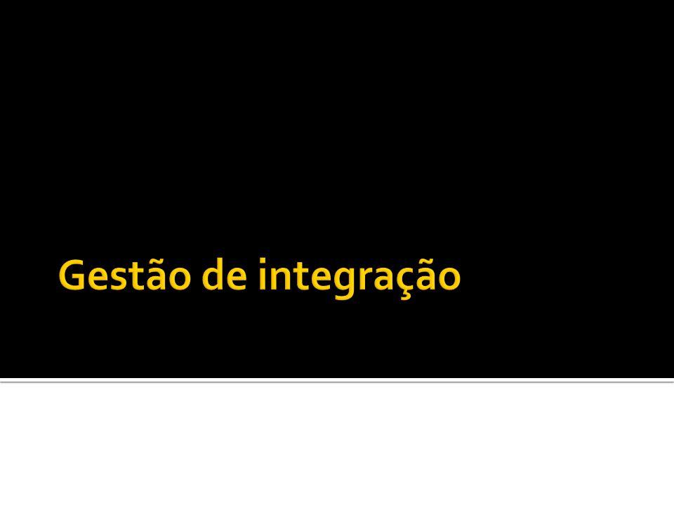 Gestão de integração