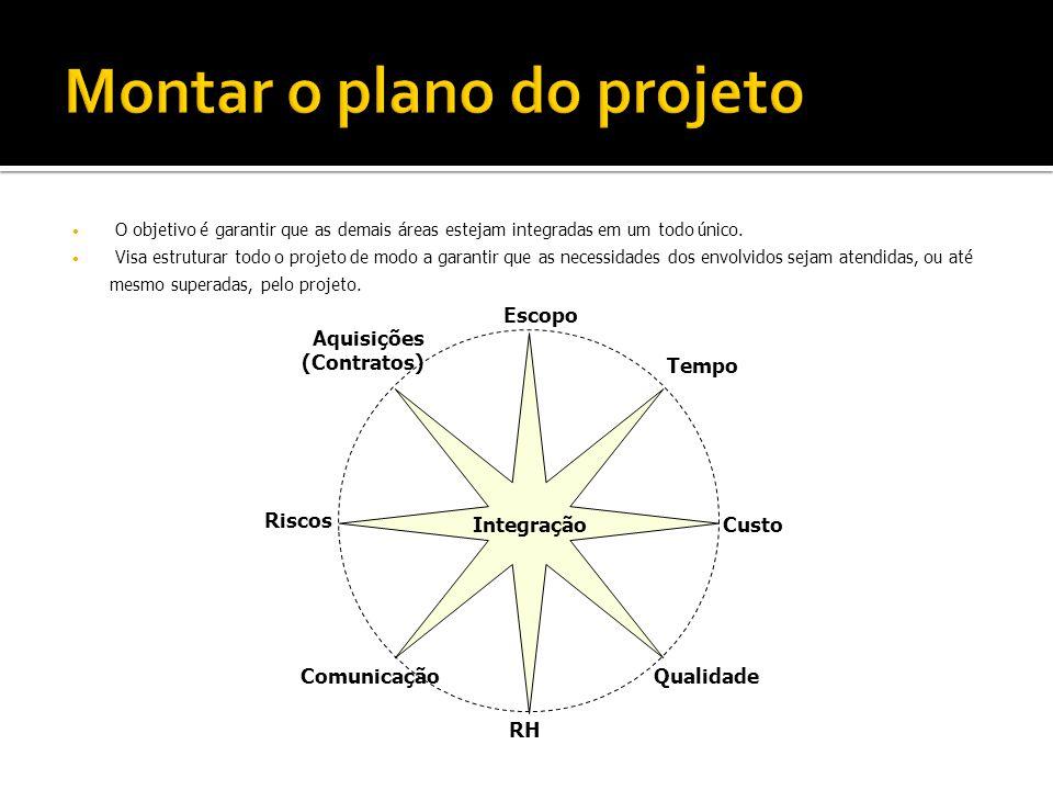 Montar o plano do projeto