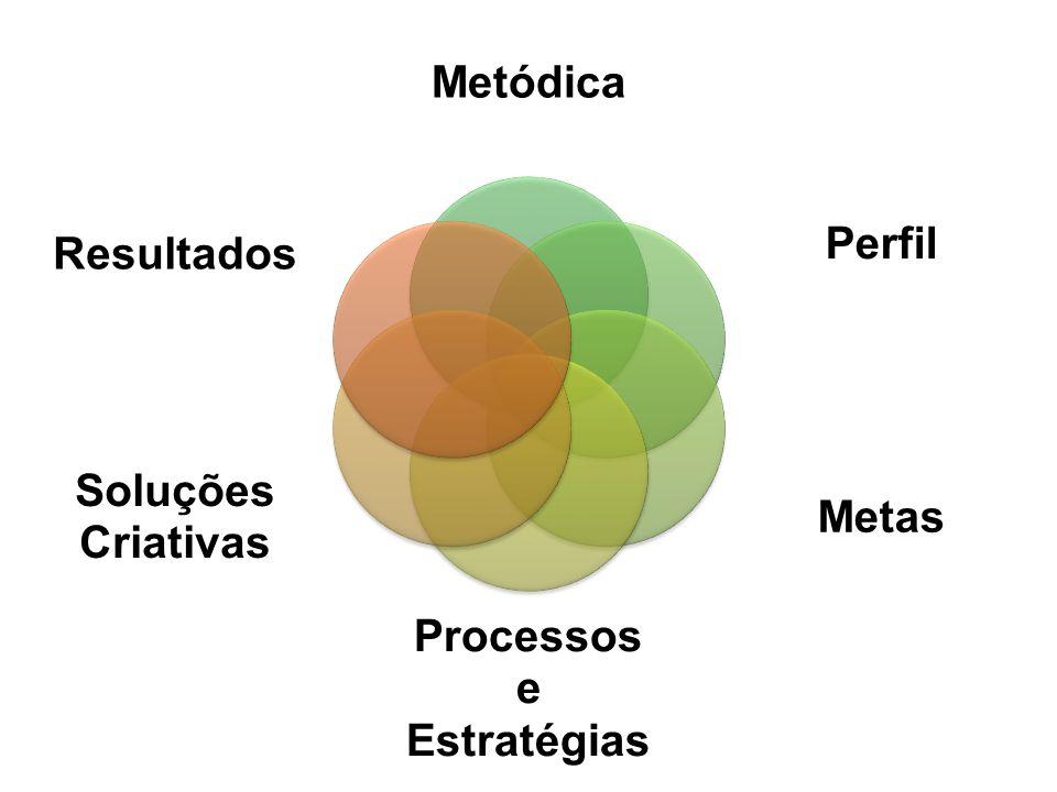 Metódica Perfil Metas Processos Estratégias e Criativas Soluções Resultados