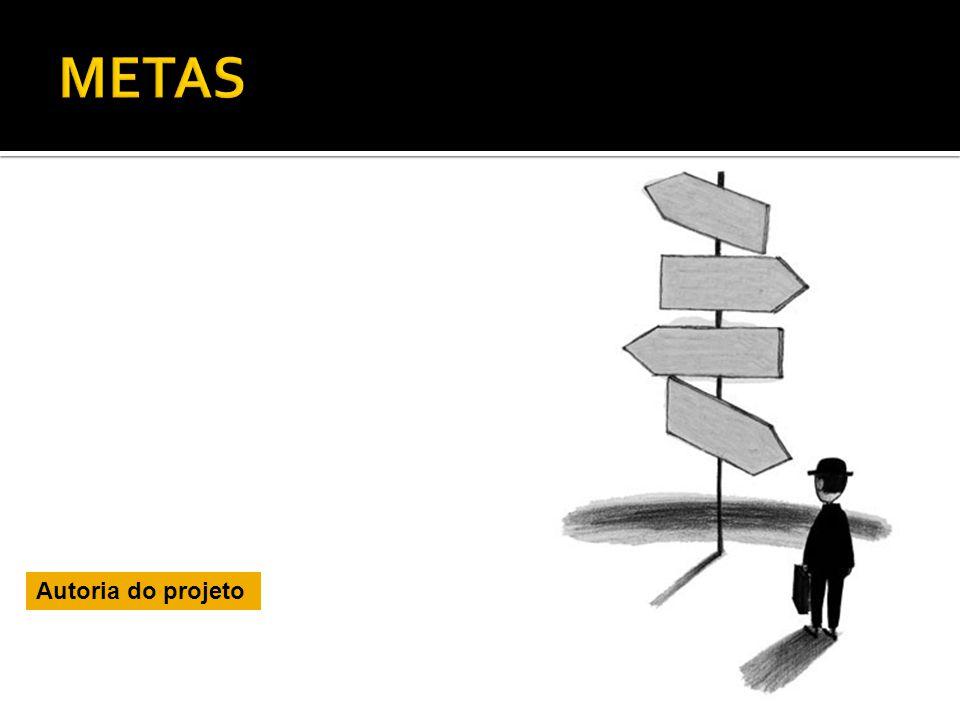 METAS Autoria do projeto