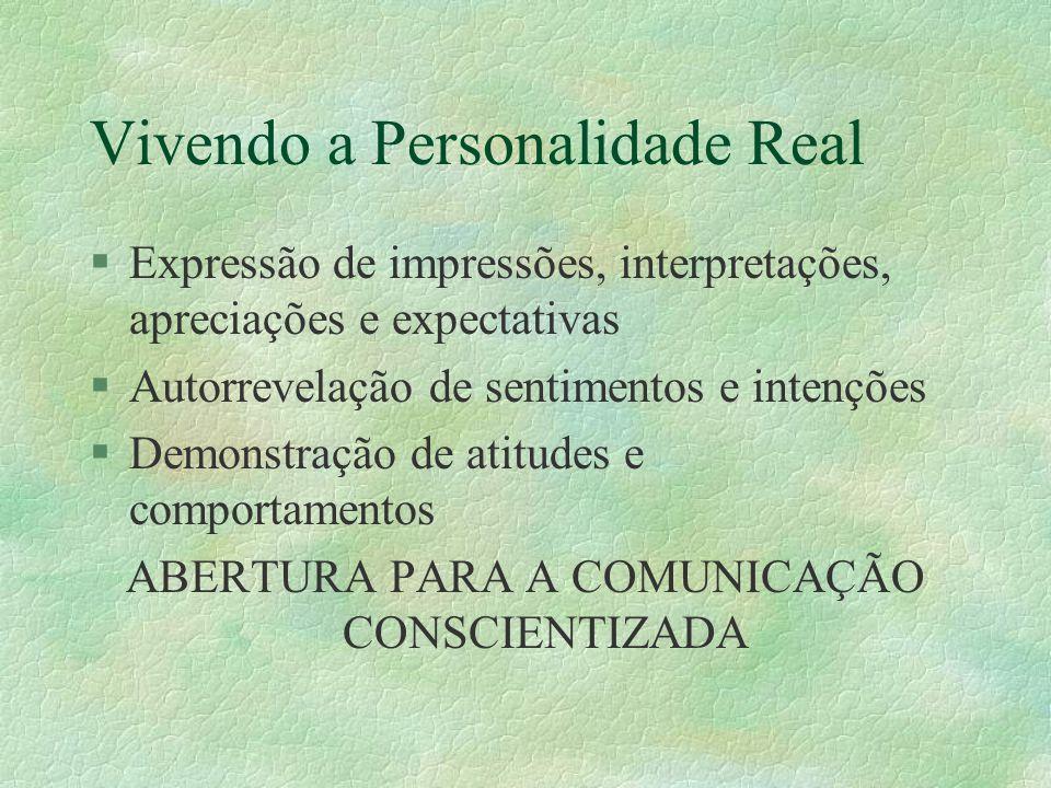 Vivendo a Personalidade Real