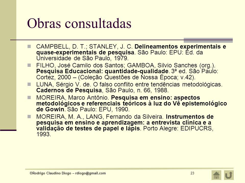 Obras consultadas