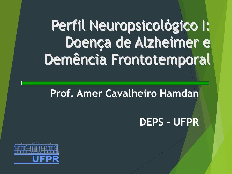 Prof. Amer Cavalheiro Hamdan DEPS - UFPR