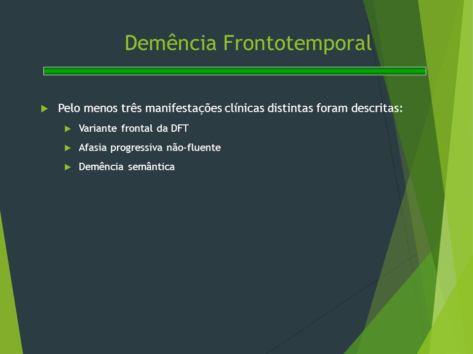 Demência Frontotemporal