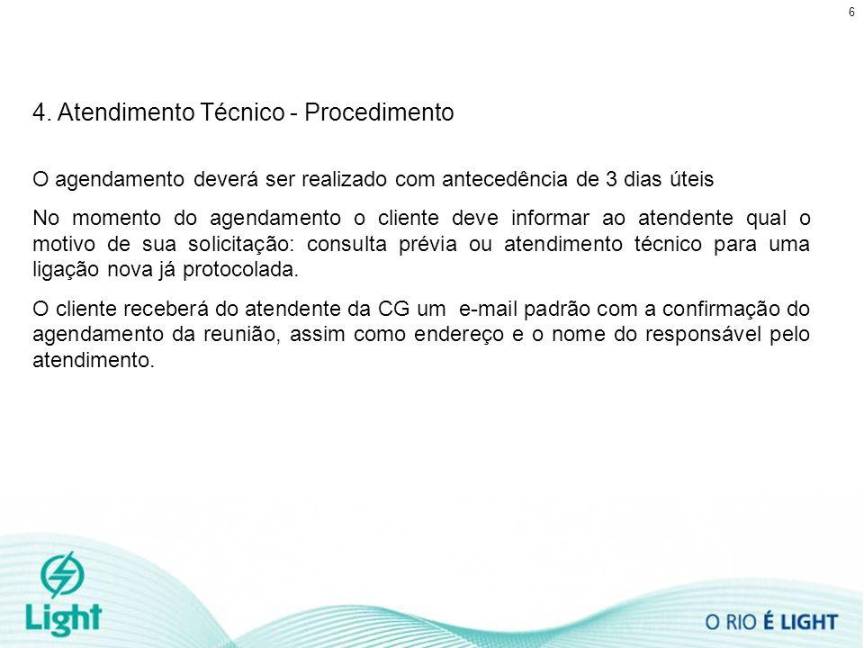 4. Atendimento Técnico - Procedimento