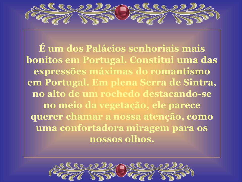 É um dos Palácios senhoriais mais bonitos em Portugal