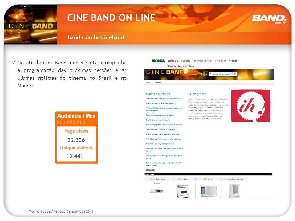 CINE BAND ON LINE band.com.br/cineband
