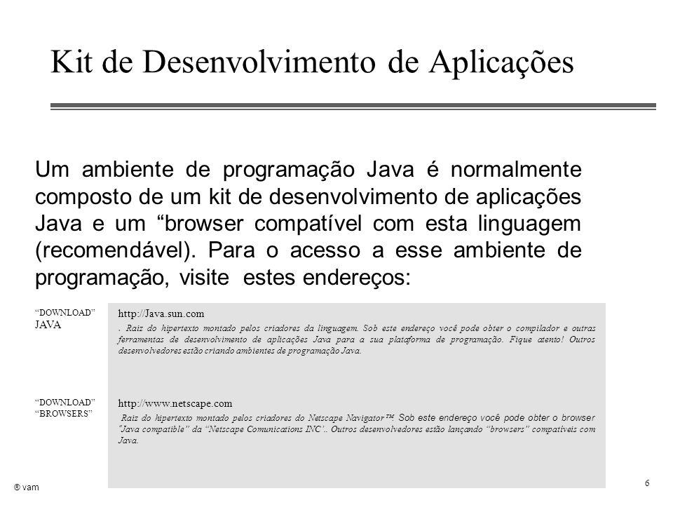 Kit de Desenvolvimento de Aplicações