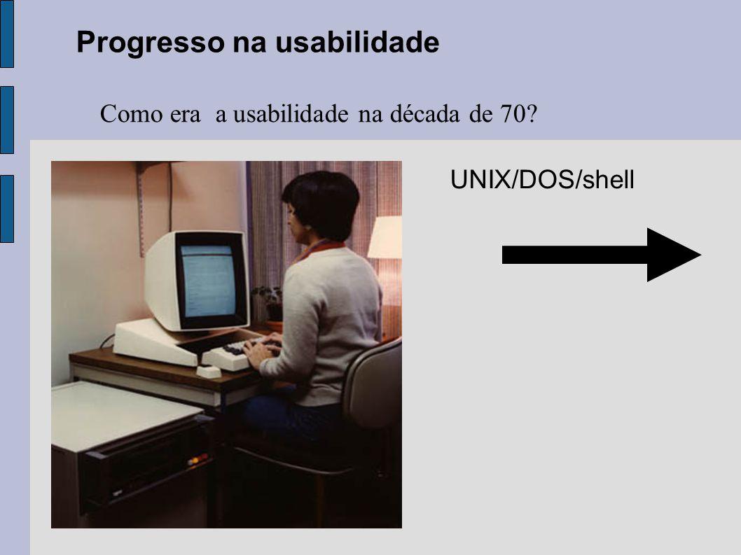 Progresso na usabilidade