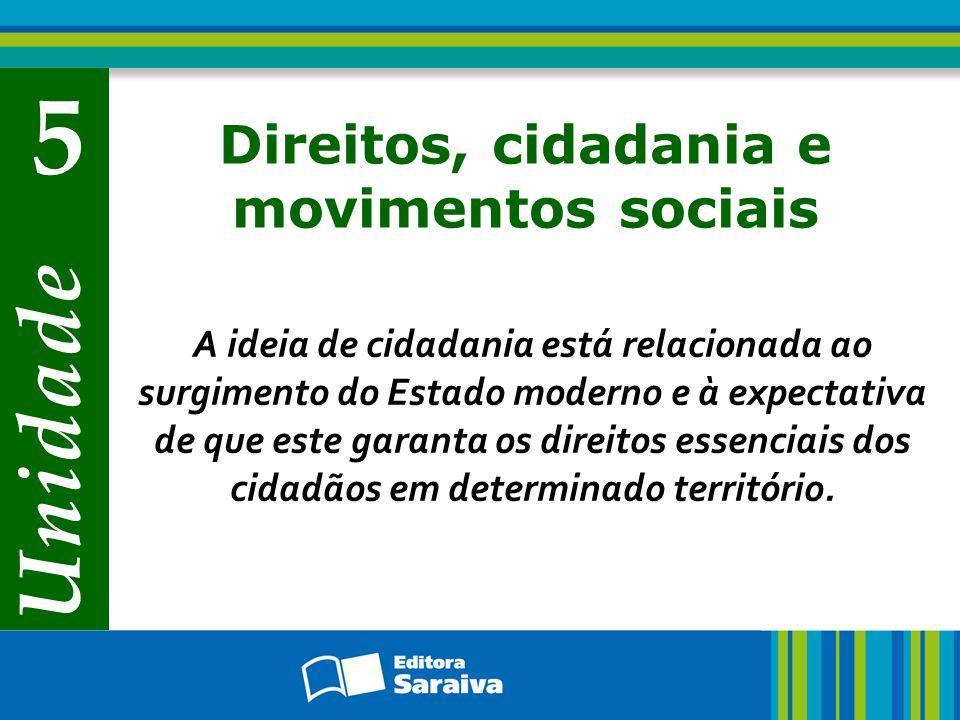 Direitos, cidadania e movimentos sociais