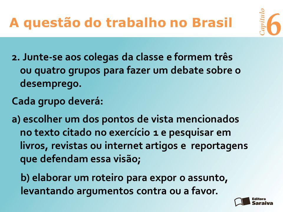 6 A questão do trabalho no Brasil