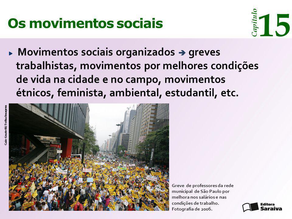 15 Os movimentos sociais Capítulo