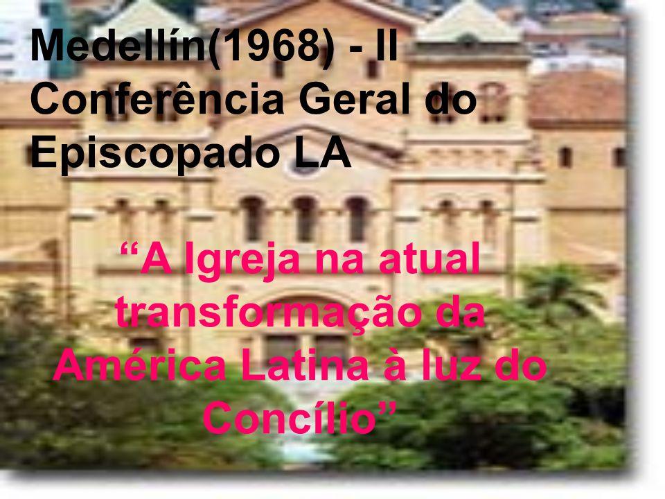 A Igreja na atual transformação da América Latina à luz do Concílio