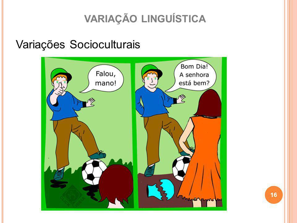 Variações Socioculturais