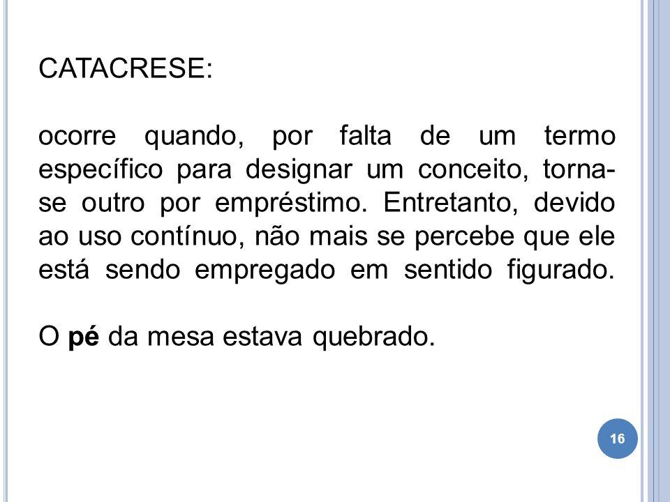 CATACRESE: